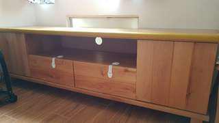 特格傢俬 赤楊木 實木 電視櫃
