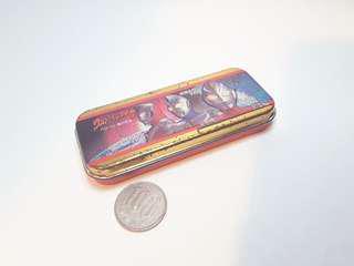 中古1997 超人鐵盒 Bandai 日本製