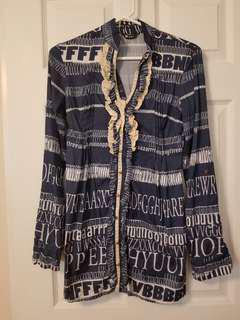 Printed dress/shirt