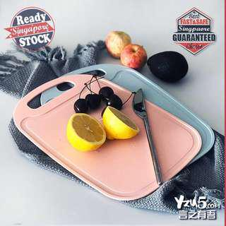 🚚 PP Chopping Board Cuttinh Tray Serving Plate Easy Light #under9