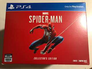 PS4 Spider-Man Collector's Edition (R3) - (Reserved)