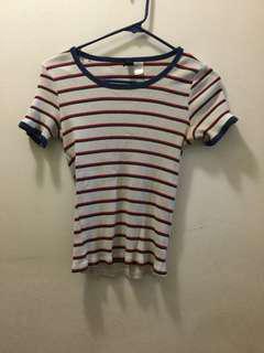H&M striped shirts