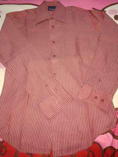 #Promo 40rbu. Kemeja merah stanley adams