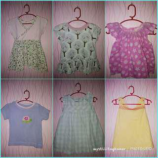 Take all preloved baby dress and tops