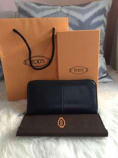 Tods wallet authentic