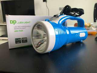 DP LED rechargeable Searchlight Torchlight, LED-7025