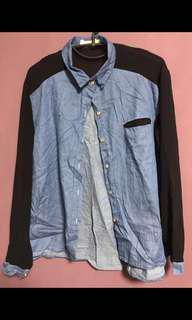 🚚 Denim mesh outerwear (CLEAR)
