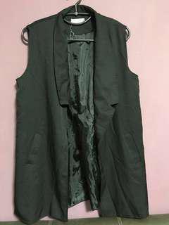🚚 PLUS size Long vest (CLEAR)