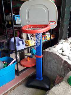 little tikes basketball ring