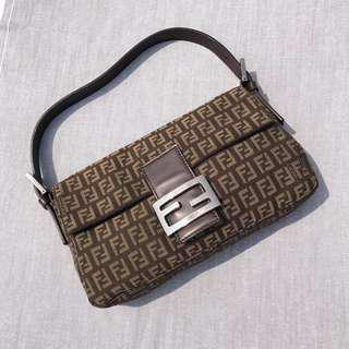 Fendi Zuccha baguette 100% Authentic