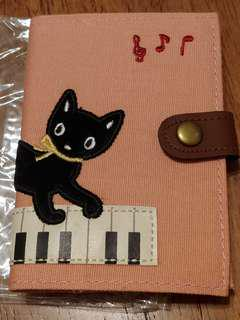 100% New 全新 日本直送 貓貓 與 鋼琴 卡片包 cat piano kitten meow name card holder case