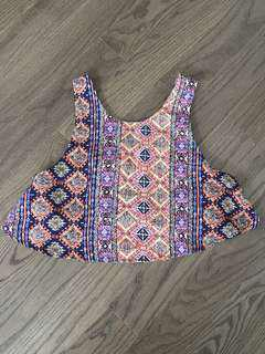 Patterned Croptop