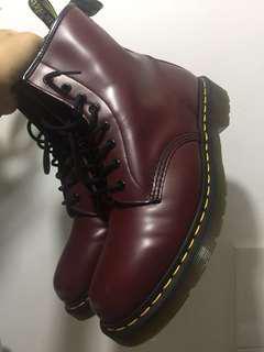 Docmart 1460 Cherry Red boots