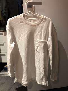 Uniqlo white jumper
