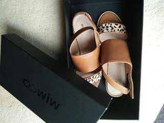 Mimco leather sandals