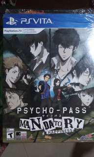 Psycho-pass: Mandatory Happiness PS Vita LE