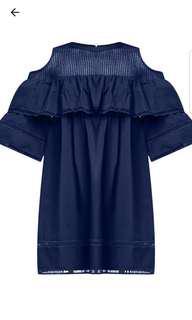 BNWT Cold Shoulder Muni Dress