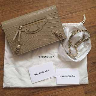 Like new, used 1x, Balenciaga Wallet On Chain