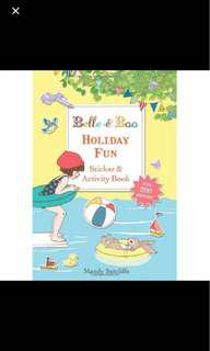 #Under9 - Belle & Boo - Holiday Fun Sticker And Activity Book