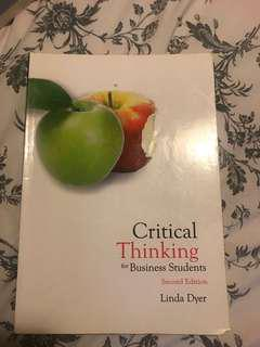 Critical Thinking for Business Students 2nd Ed