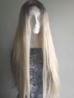 2 Toned Synthetic Lacefront Wig