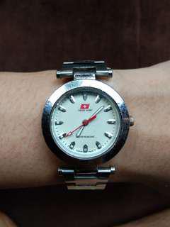 Jam tangan swiss army diamter seuang koin 500 besar