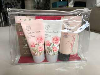 The Face Shop Perfume Seed travel kit (7 in 1 set)