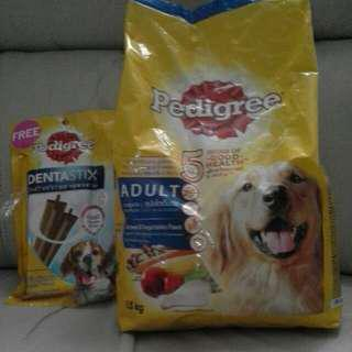 Pedigree Dog Food -chicken.& Vegetables Flavour (Expied 080119) Adult