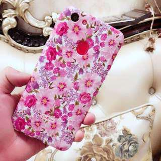 Samsung Floral Glossy Soft Case