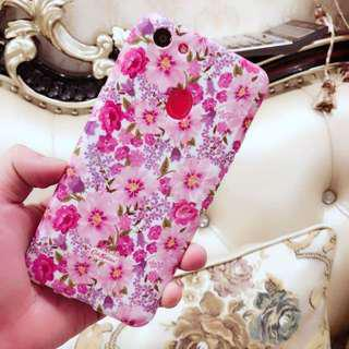 Huawei Floral Glossy Soft Case
