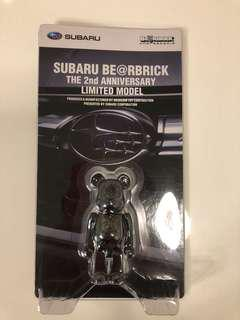 全新正版未開封 SuBaRu 100% be@rbrick medicom toy bearbrick