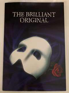 Phantom of the Opera Souvenir Programme Book
