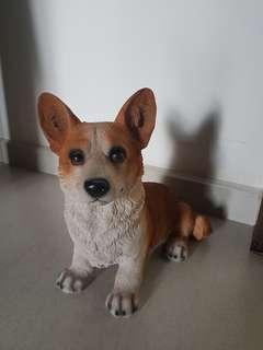 Corgi Dog figure for display