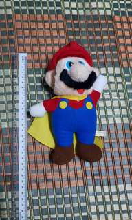 original vintage nintendo super Mario plushie toy