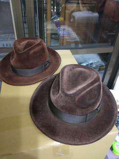 🚚 早期呢絨紳士帽。
