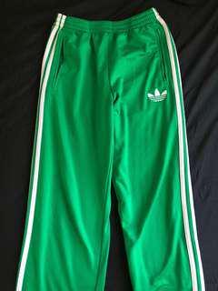 Green Adidas Sweatpants