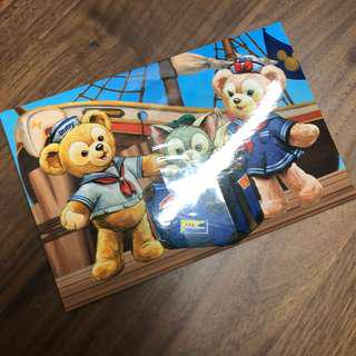 Disneyland duffy and friends postcards