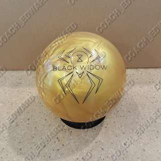 BNIB Hammer Black Widow Gold bowling ball available (Release: 8 Aug 2017)
