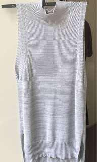 Cotton On Turtle Neck Singlet - Size S