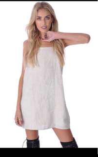 ⚡️SALE⚡️BM white Spaghetti Dress