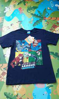 NEW JUSTICE LEAGUE T SHIRT AGE 10