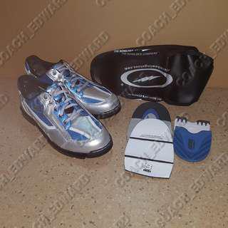 Just arrived BNIB Storm Mens SP3 Silver/Teal/Black bowling shoes