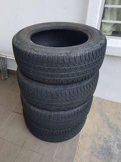 Tayar Second Bridgestone Turanza