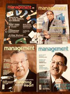Preloved Management Magazines