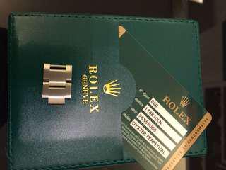 全新ROLEX錶帶格,可散買