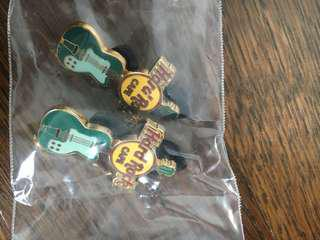 Unused Hard Rock Pin Badge