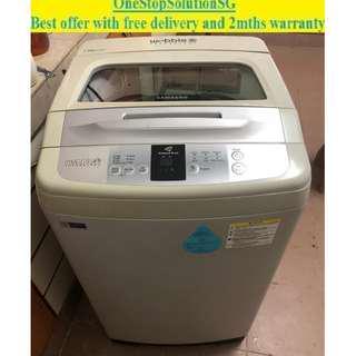 Samsung (7.5kg), washer / washing machine ($180 + free delivery & 2mths warranty)