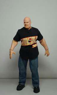 Stone Cold Steve Austin Jakks Pacific 12 inch 1/6 scale 30 cm WWE WWF wrestling action figure - Not Mattel