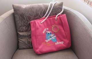 Pink Felt Bag