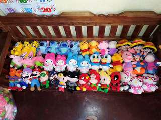 Brandnew & Assorted STUFFED TOYS
